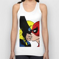 heroes Tank Tops featuring Heroes by Alex Cherry