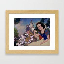 Disney Snow White Framed Art Print