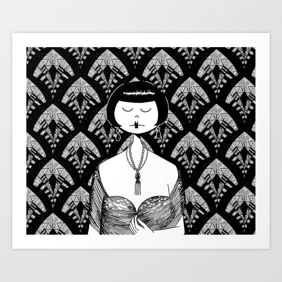 ask him if the new kisses are divine Art Print