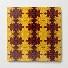 """A Gathering of Lilies"" Remix - 2 (3-1) [D4466~24] (Addendum) Metal Print"