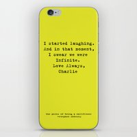 the perks of being a wallflower iPhone & iPod Skins featuring Perks of Being a Wallflower  by Mackenzie Hahn