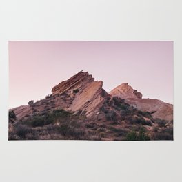 Desert Landscape at Magic Hour Rug
