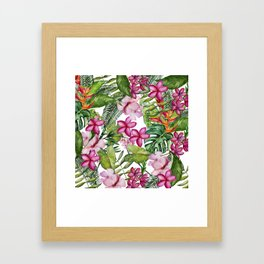 Tropical Garden 3 Framed Art Print