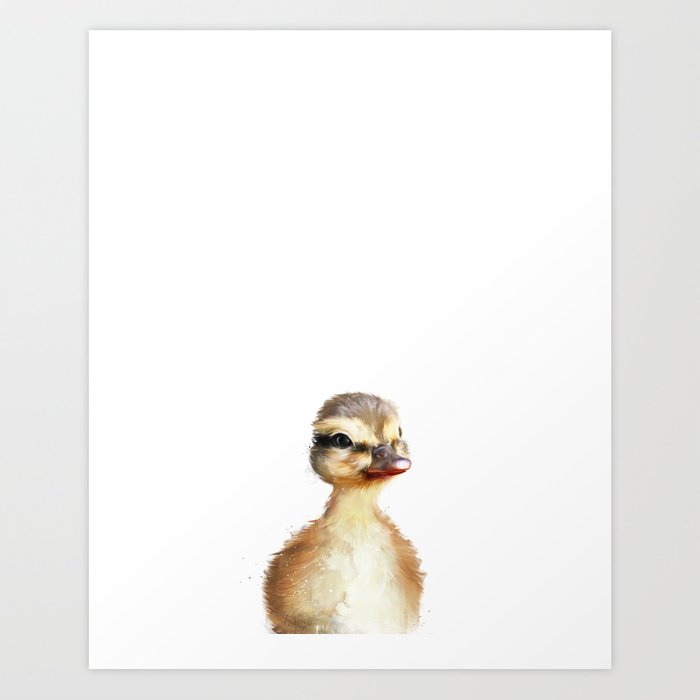 Discover the motif LITTLE DUCK by Amy Hamilton as a print at TOPPOSTER
