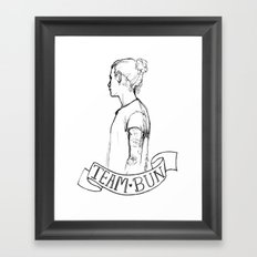 Team Bun Framed Art Print
