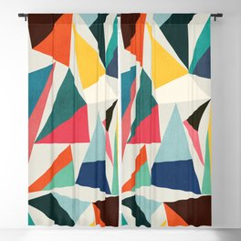 Collection of pointy summit Blackout Curtain