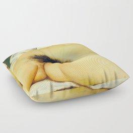 (BIG) Origin of the World : L'Origine du monde by Gustave Courbet Floor Pillow