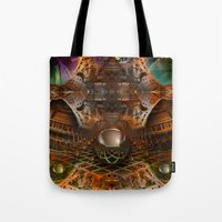 oz Tote Bags featuring Oz by Robin Curtiss