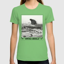 The White Star Line and Godzilla T-shirt