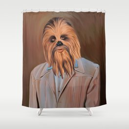 The Chewy Shower Curtain
