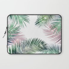 palm leaves tropical Laptop Sleeve