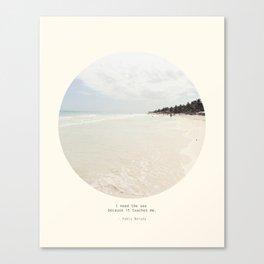 Need the sea  Canvas Print