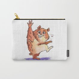 Waving Hamster Carry-All Pouch