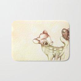 little bambi Bath Mat