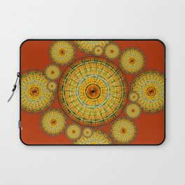 Copernicus, Descartes, and the Mayan Corn Calendar Laptop Sleeve