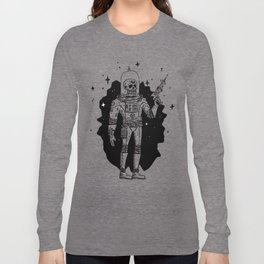Intergalactic Bone Man Long Sleeve T-shirt