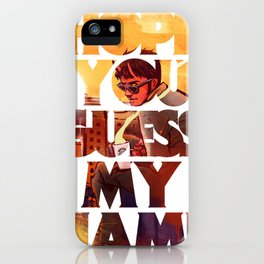 Hope you Guess my Name - White iPhone Case