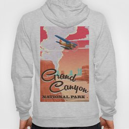 Grand Canyon National Park Travel Poster Hoody