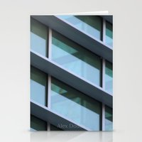 architecture Stationery Cards featuring Architecture by Alex Dodds