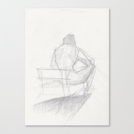 Figure Study (2) Canvas Print