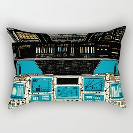 To Outer Space! Rectangular Pillow