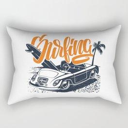 Surfing USA Rectangular Pillow