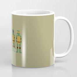 TMNT 8-Bit Coffee Mug