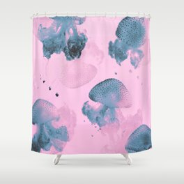 Candy Jellyfishes Shower Curtain