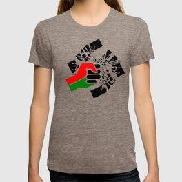 Obliterate Hate w/ Black Power (women) T-shirt