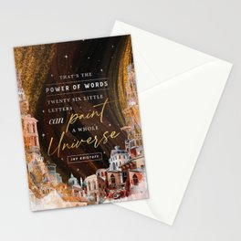 Paint Universe Stationery Cards