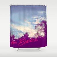 bleach Shower Curtains featuring Sun Bleached by Ben Geiger