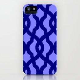 Grille No. 2 -- Blue iPhone Case