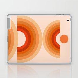 Abstraction_SUN_Rainbow_Minimalism_008 Laptop & iPad Skin
