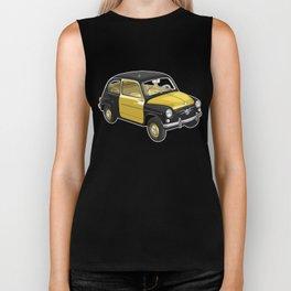 Barcelona Vintage Taxi Biker Tank