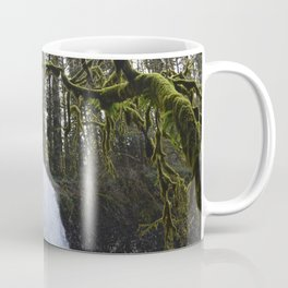 Middle North Falls - Silver Falls State Park Coffee Mug