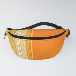 Retro Color Stripe Decor Fanny Pack