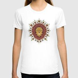 Lion Mandala in Colour T-shirt