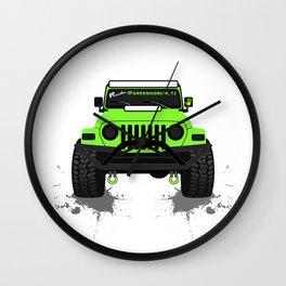 [JEEP] Greengoblin_TJ Wall Clock