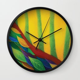 RED TREE(The Path of Dreams) Wall Clock