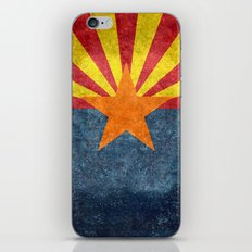 Arizona state flag - vintage retro style iPhone & iPod Skin