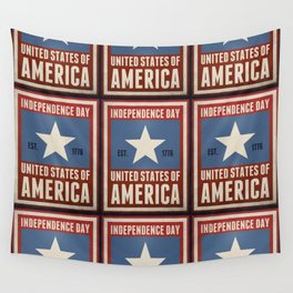Independence Day Wall Tapestry