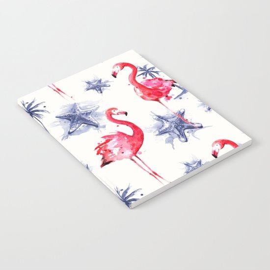 Beach Flamingos Notebook