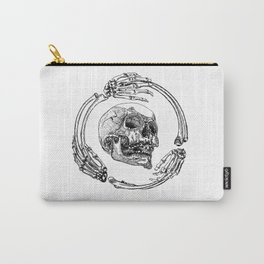 Skull Monogram Carry-All Pouch