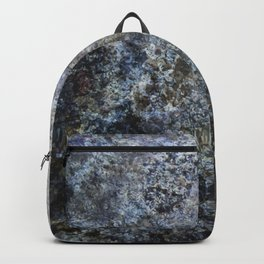 Grunge rock texture Backpack