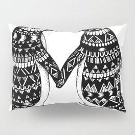 Penguin Couple Pillow Sham