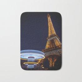 Eiffel Carousel Bath Mat