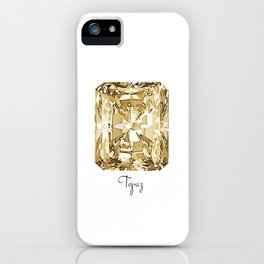 Topaz iPhone Case