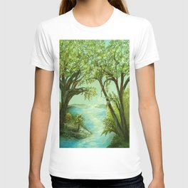 View from the River Bank T-shirt