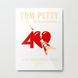 tom petty anniversary Metal Print