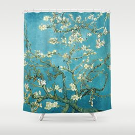 Almond Blossoms by Vincent van Gogh Shower Curtain
